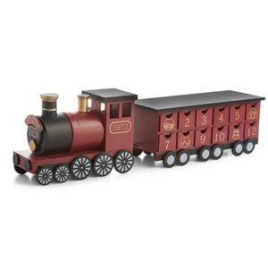 Harry Potter Hogwarts Express Wooden Advent Train